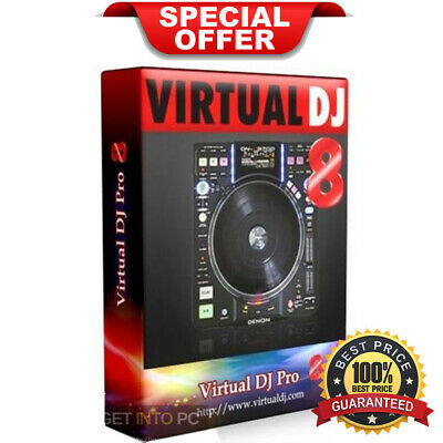Virtual DJ Pro 8 | Full Version | Lifetime License (INSTANT DELIVERY)