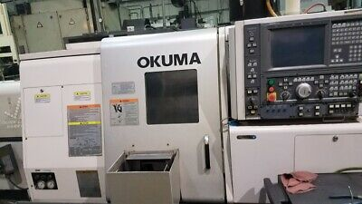 Used Okuma Captain L370Mw Cnc Lathe Live Tooling Subspindle C-Axis Presetter