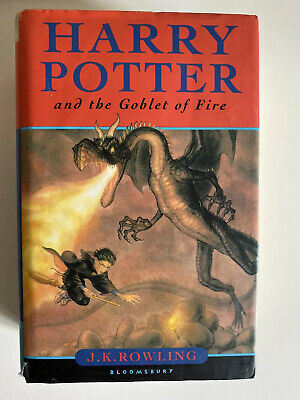 Harry Potter & the Goblet of Fire (Hardback, 2000) Good Condition, First Edition