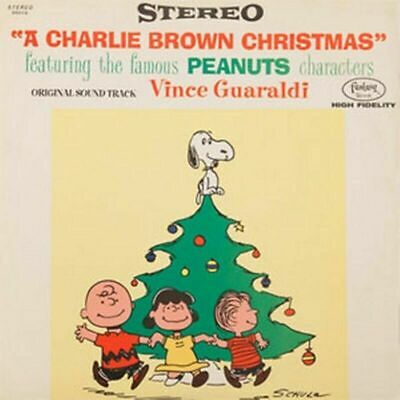 The Vince Guaraldi  A Charlie Brown Christmas 180g Vinyl LP Original 1965 cover!