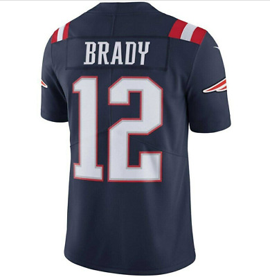 #12 Brady New England Patriots Color Rush Vapor Untouchable Limited Jersey