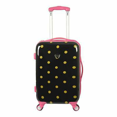 Travelers Club Modern 20-inch Hardside Expandable Carry-On Spinner luggage