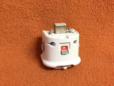 Nintendo Wii Official OEM White MotionPlus Controller Adapter RVL-026