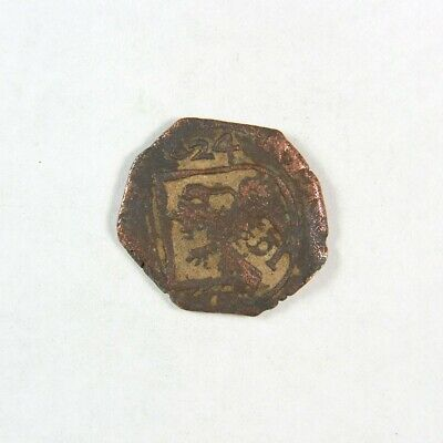 1600's Pirate Treasure Era Spanish Colonial Coin - Exact Coin 2963