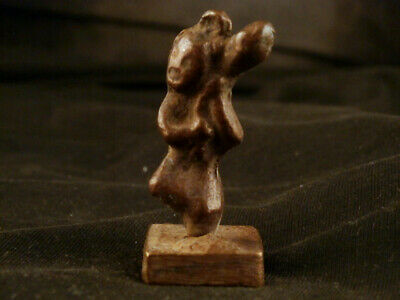 Good Quality Antique Chinese Brass *Figure* Seal Naa008