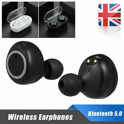 Stylish Stereos Sound Wireless Headsets Twins Earphones Earbuds Bluetooth 5.0 w1