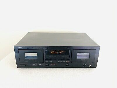 Yamaha Stereo Double Cassette Tape Deck Player Recorder KX-W392