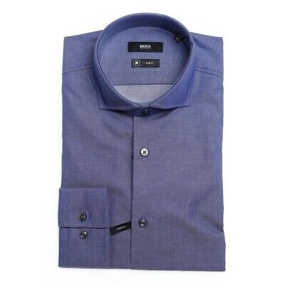 Camicia Hugo Boss Jason Blu 50404268 - 412 Navy Uomo