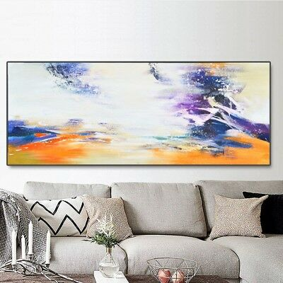 Modern Large HandPainted Living Room Decor On Canvas Art Abstract Oil Painting