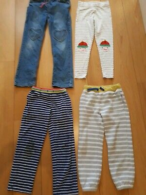 Girls Mini Boden Trousers Bundle Age 8- 10 years Christmas leggins Jeans joggers