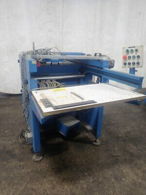 """Zechini Gra-For Roby One Gluing & Mounting Machine 28"""" 09191980006"""