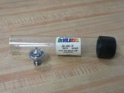 Devilbiss JGA-4040-FX Fluid Tip & Needle Lap 190773 Fluid Tip Only