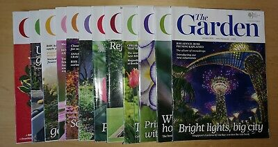 RHS The Garden Magazine - 12 Monthly Editions - YEAR 2015