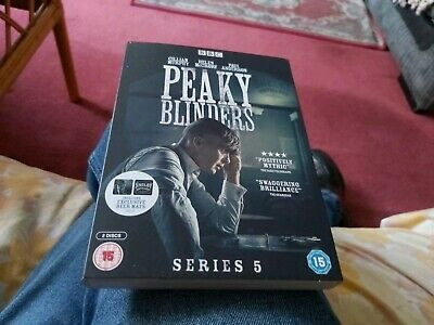 Peaky blinders Series 5 With Limited Beer Mats 2 Disc Dvd