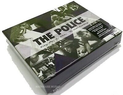 THE POLICE CD x 6 Every Move You Make : The Studio Recordings + Rarities BOX SET