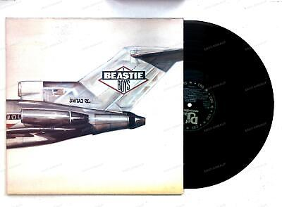 Beastie Boys - Licensed To Ill Europe LP 1988 FOC '