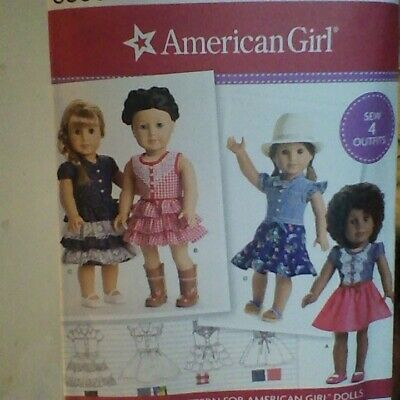 "18/"" DOLL American Girl NEW Simplicity 8041 Pattern Leggings ShirtsTops"
