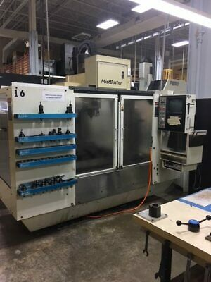 "USED FADAL VMC-4020HT CNC VERTICAL MILL 1995 40.20.20"" 88HS Box Ways 10000 RPM"