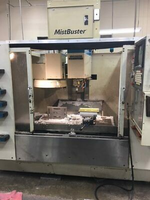 "USED FADAL VMC-4020HT CNC VERTICAL MILL 1991 40.20.20"" Axis Box Ways"