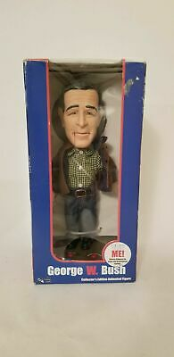 George W. Bush Collector's Edition  Figure  In Box Vintage model from collection