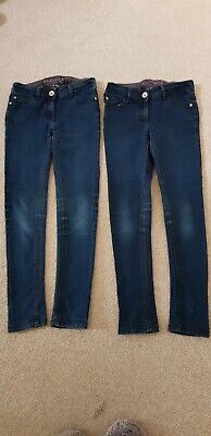 NEXT Girls Blue Jeans Bundle - Aged 10 Years Old