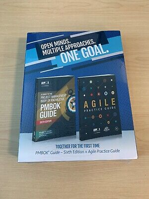 PMP PMI PMBOK Guide 6th Edition + Agile Practice Guide Sealed/Unopened
