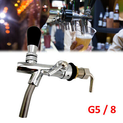 Beer Tap Intertap Flow Control Stainless Steel Faucet Shank G5/8 Tap Replacement