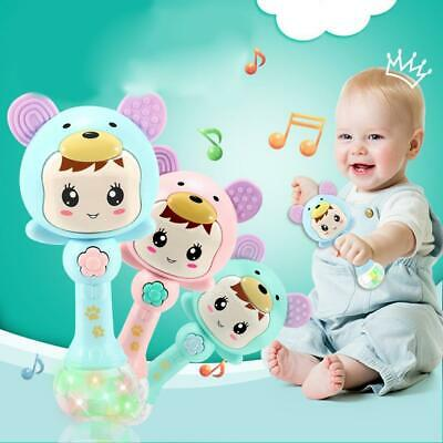 Baby Instrument Percussion Musical Finger Shaker Sand Hammer Toy ILOE 01