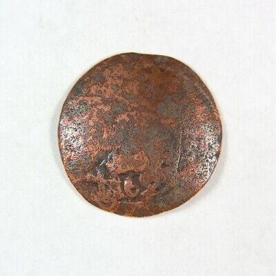 1600's Pirate Treasure Era Spanish Colonial Coin - Exact Coin 2932