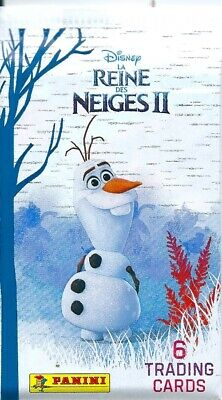 panini frozen 2 trading cards 5x single packets-