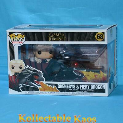 Game Of Thrones - Daenerys with Fire-Breathing Drogon Pop! Rides Vinyl #68
