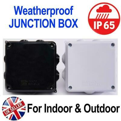 IP65 Weatherproof Junction Box Case 100x100x70mm for Outdoor Electric CCTV Cable