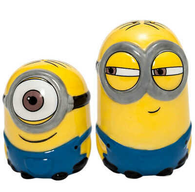 Despicable Me Salt and Pepper Pots Minions Joy Toy Accessories Cooking
