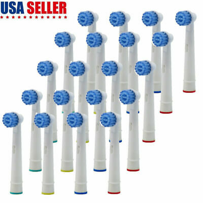 20x Replacement Toothbrush Tooth Brush Heads Fit For ORAL-B Sensitive Clean Care
