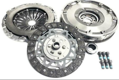 DUAL MASS TO SINGLE SOLID FLYWHEEL /& CLUTCH PEUGEOT 207 1.6 HDI 2006 ONWARD