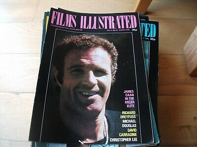 Films Illustrated 8  Issues  1976