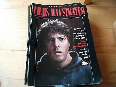 Films Illustrated 14 Issues  1977