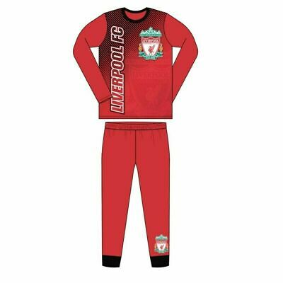 Boys Official Liverpool FC Pyjamas Size Age 4-5 / 5-6 / 7-8 / 9-10 / 11-12 Years