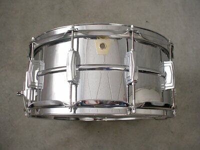 Ludwig Supraphonic Lm402 Snare Drum 6.5X14, Excellent!!