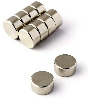 Strong Neodymium Magnets ( 10mm x 5mm ) N50 * Pull force 3.5Kg * Powerful Disc