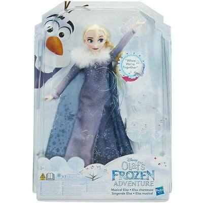 Bambola Disney Frozen II Holiday Personaggio Elsa Magica Cantante L'ORIGINALE