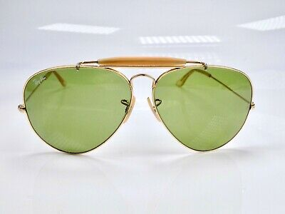 Vintage 1980's B&L Ray Ban Outdoorsman II L2113, RB-3 Lens, 62mm Sunglasses