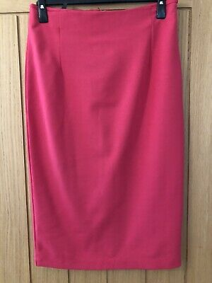 Isabella Oliver Maternity High Waisted Pencil Skirt Size 16, BNWT Cranberry