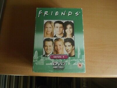Friends Series 9 Six Disc Dvd Box Set - Episodes 1 - 23