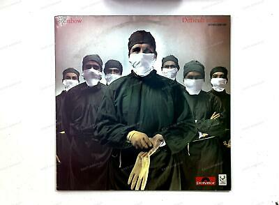 Rainbow - Difficult To Cure GER LP 1985 .