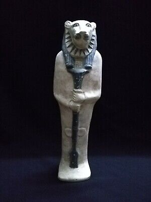 Ancient Egyptian Antiquities Statue of God Sekhmet  (1390–1352 B.C.E)
