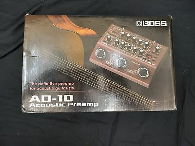 Boss AD-10 Acoustic Preamp Guitar Processor Pedal