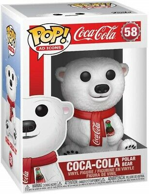 Funko - POP Ad Icons: Coca-Cola - Polar Bear Brand New In Box
