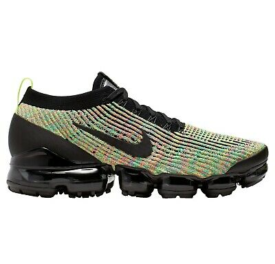 Nike Air Vapormax Flyknit 3 Mens AJ6900-006 Multi Color Running Shoes Size 9.5