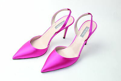 Bliss Pointy Toe Pumps Dark Pink Patent